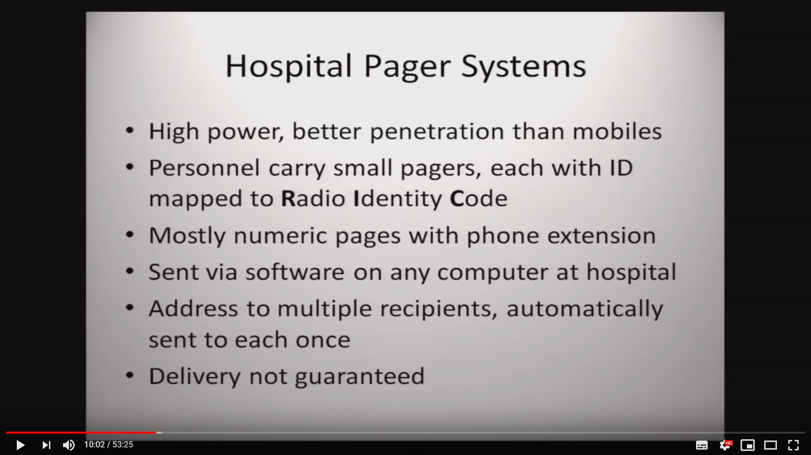 Hospital Pager Systems