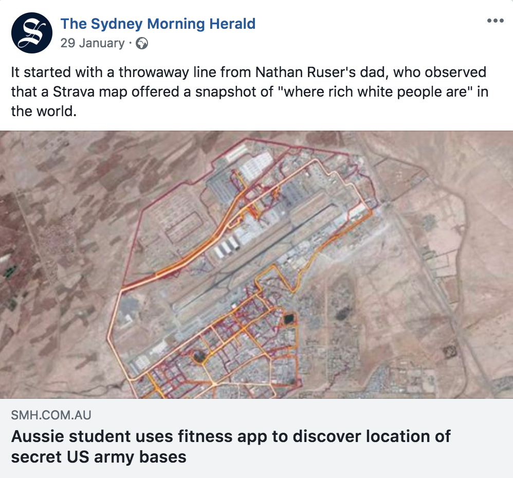 Facebook post by The Sydney Morning Herald